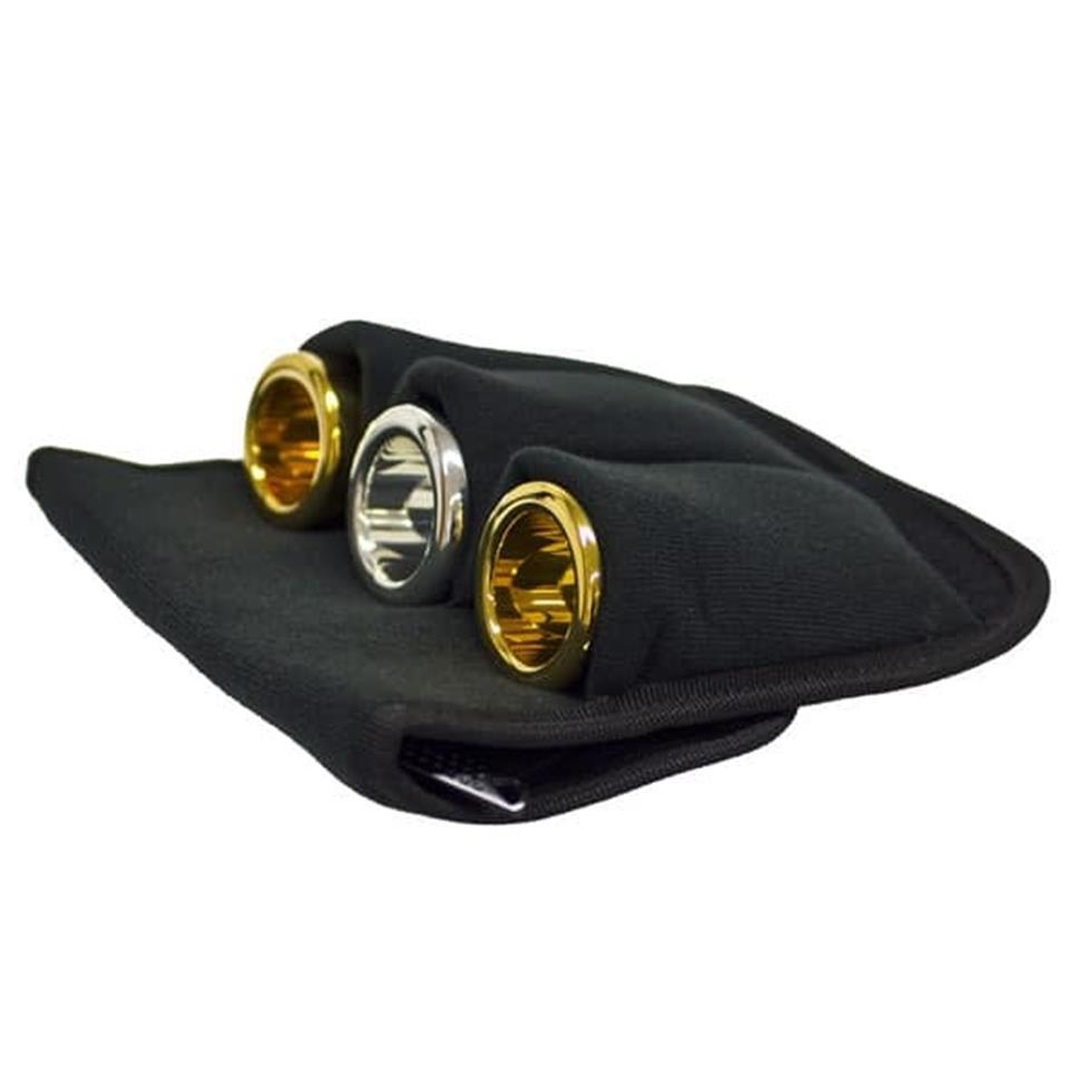 Denis Wick 3-piece tuba mouthpiece pouch (nylon) Image 1