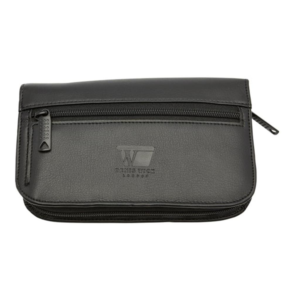Denis Wick 4-piece small mouthpiece pouch (leather) Image 1