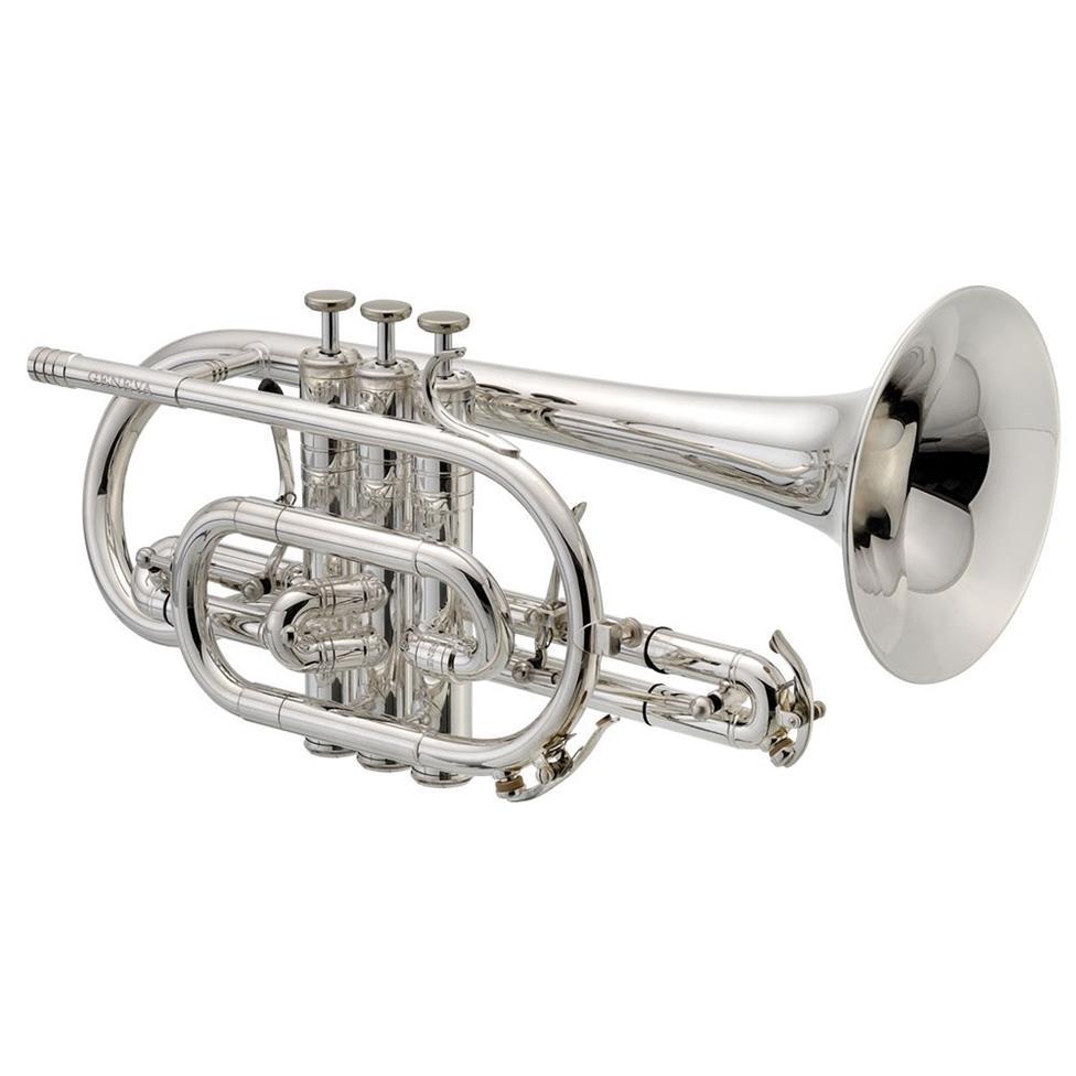 Geneva Mentor B flat cornet (silver) Image 1