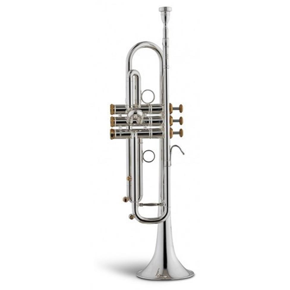 Stomvi Raptor VRII B flat trumpet (silver) Image 1