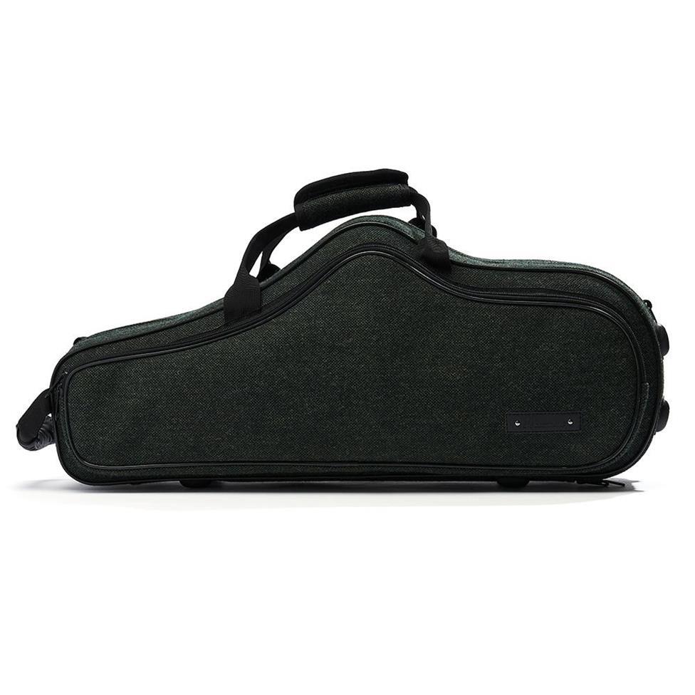 Beaumont alto sax case (racing tweed)