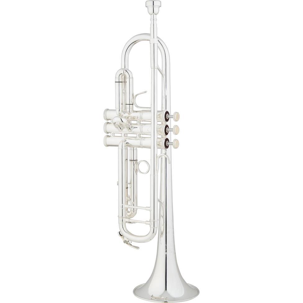 Eastman ETR830S C trumpet (silver) Image 1