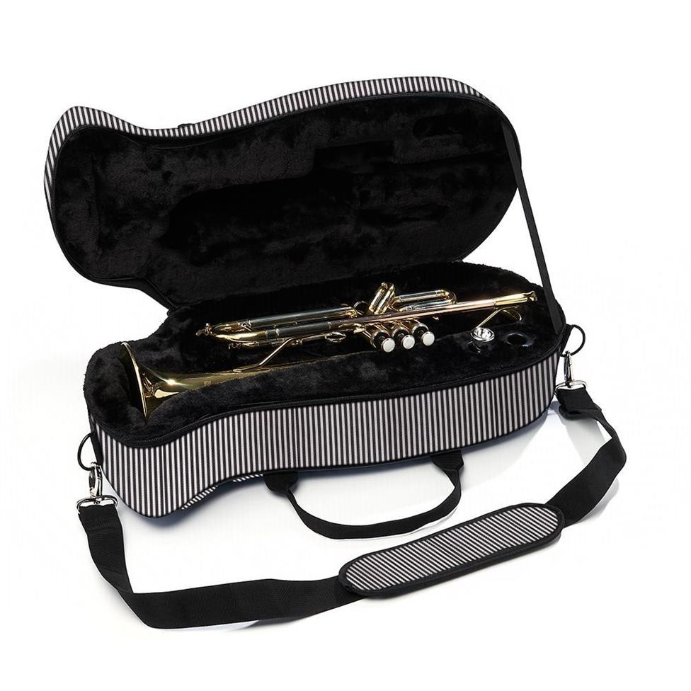 Beaumont trumpet case (pinstripe)