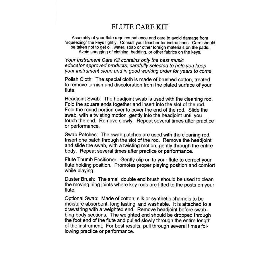 Superslick flute care kit