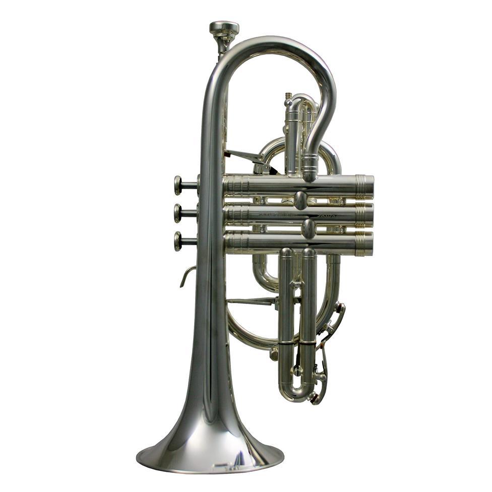 Geneva Symphony B-flat cornet (silver) Image 1