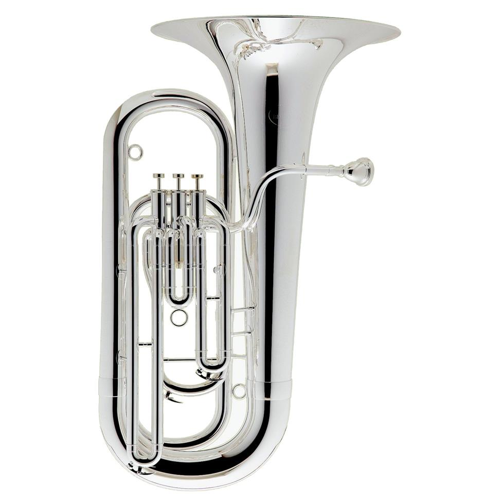 Besson Prodige 177 E-flat tuba (silver) Image 1