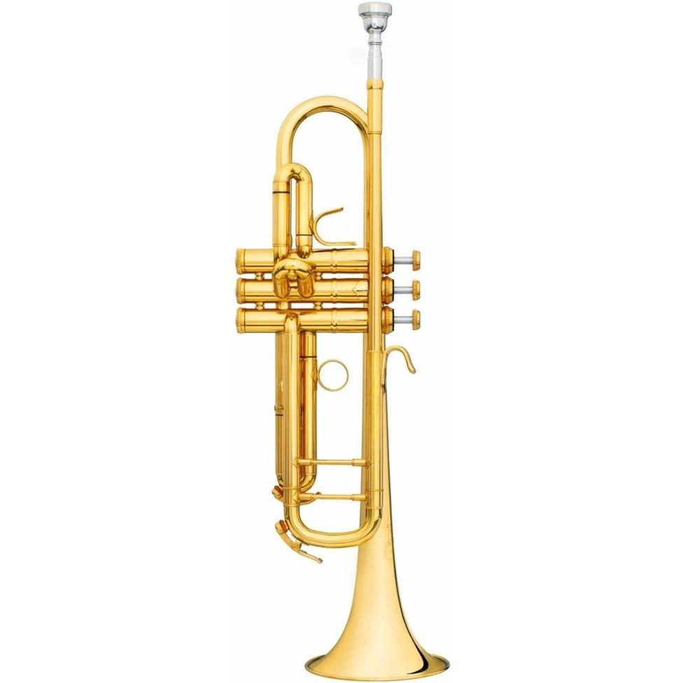 B&S Challenger II 31372LR B flat trumpet (lacquer) Image 1