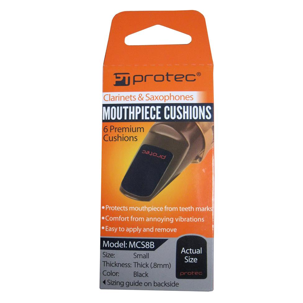 Protec mouthpiece cushions (6-pack, small) Image 1