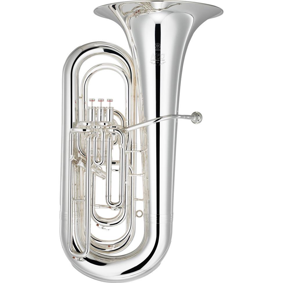 Yamaha Neo YBB-632S BB-flat tuba (silver) Image 1
