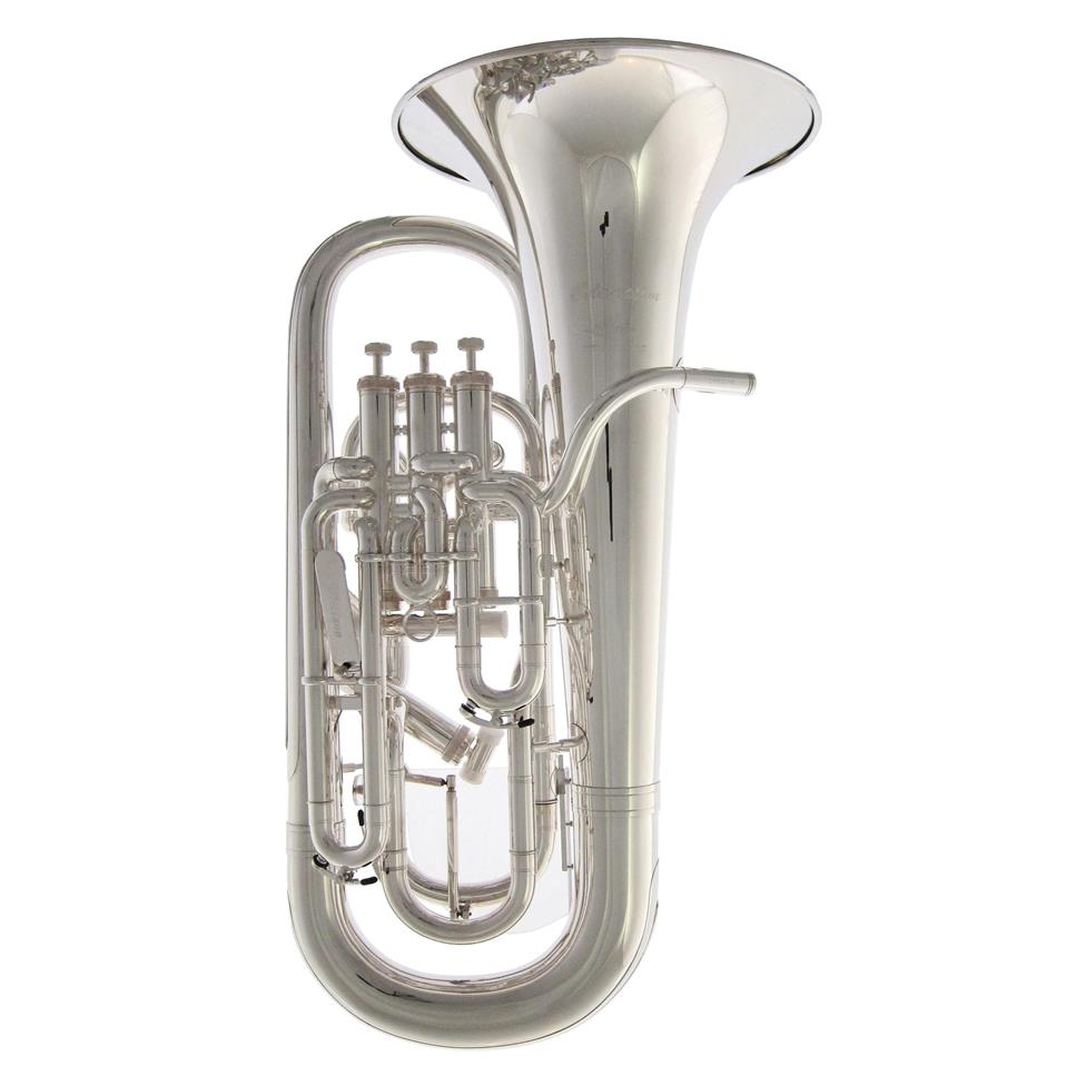 Willson Celebration 2960TA-ST euphonium (silver) Thumbnail Image 0