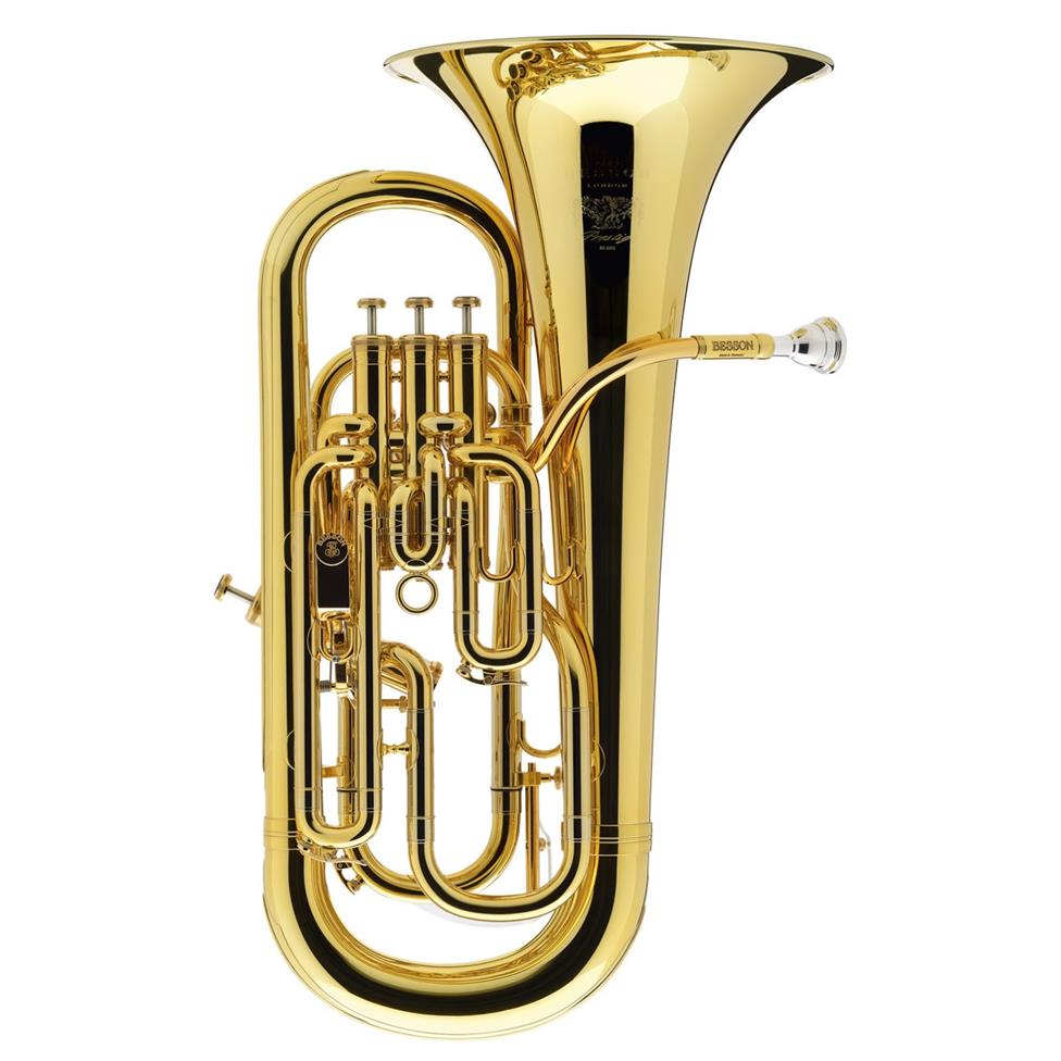 Besson Prestige BE20522-8G euphonium (gold lacquer) Image 1