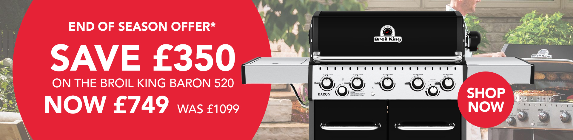 Broil King Baron 520 end of season offer