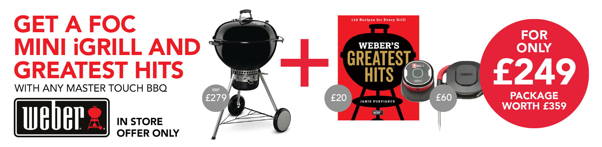 Weber iGrill Greatest Hits Offer