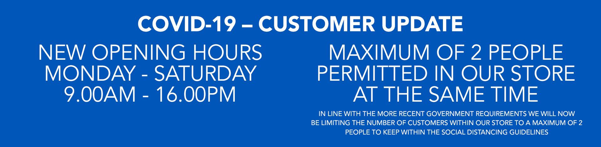 Covid19 Customer Update March 23
