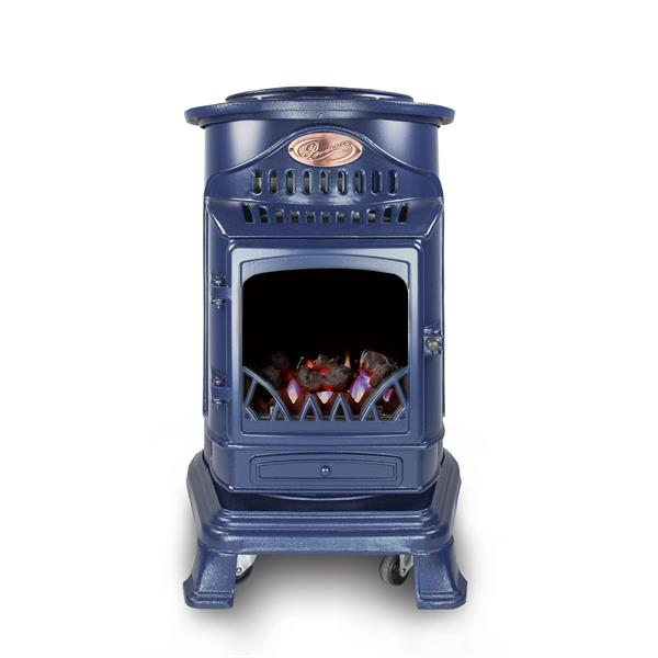 Provence Calor Real Flame Effect 3.4kW Blue Gas Heater Image 1