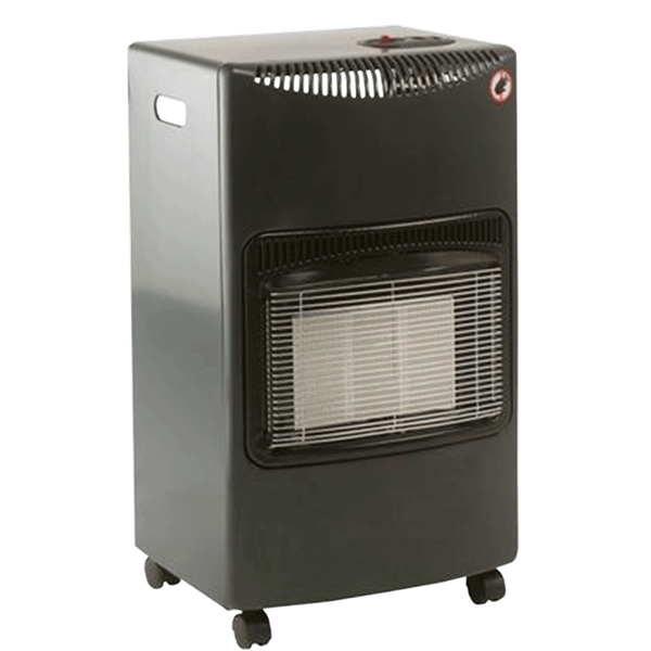 Lifestyle Seasons Warmth 4.2kw Radiant Portable Gas Heater - Grey Image 1