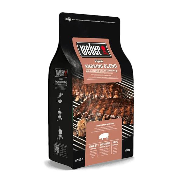 Weber Pork Wood Chip Blend - 0.7kg Image 1