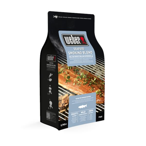 Weber Seafood Wood Chip Blend - 0.7kg Image 1