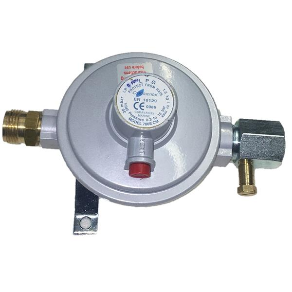 Caravan Regulator M20 x 8mm 30mb 1.5kg BS EN 16129 Annex D Image 1