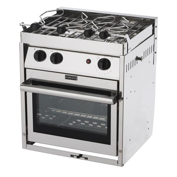 Force 10 Marine XM Custom 2 Burner Galley Range Image 1