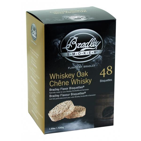 Bradley Whiskey Oak Bisquettes Image 1