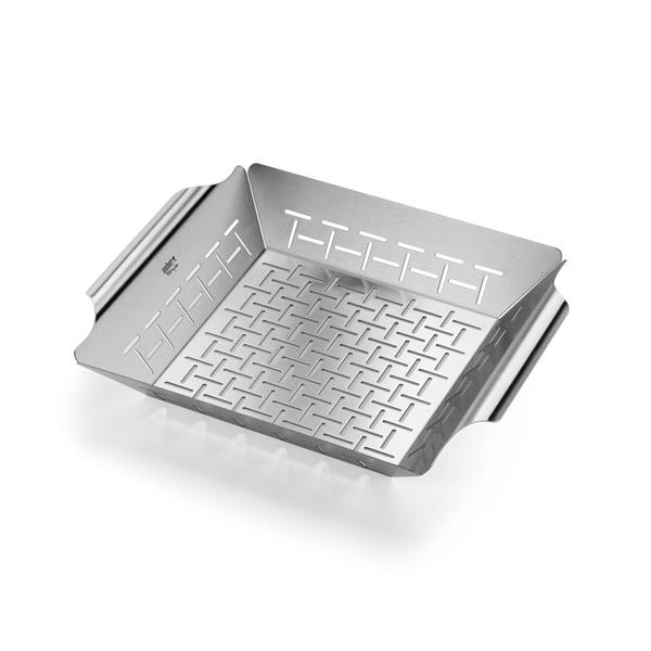 Weber Square Stainless Steel Deluxe Grilling Basket Image 1