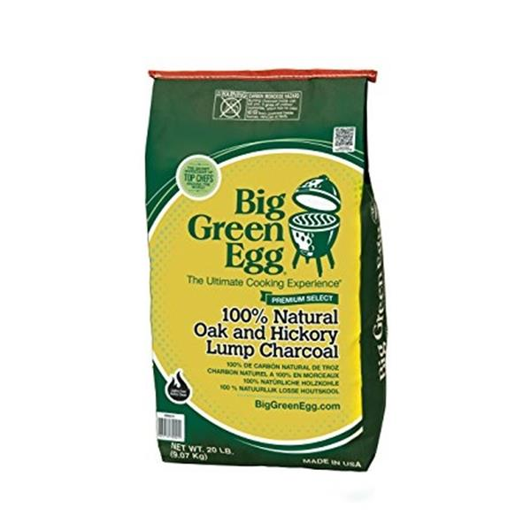 Big Green Egg 9kg Premium 100% Lump Charcoal Image 1