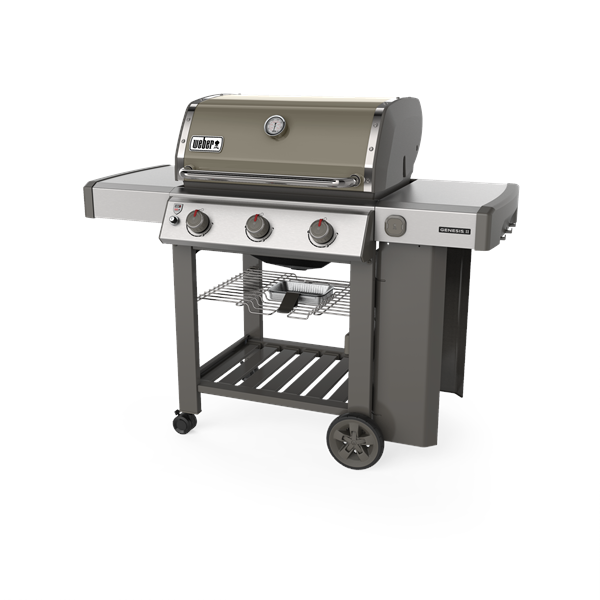 Weber Genesis II E-310 GBS Gas Barbecue (Smoke Grey) Image 1