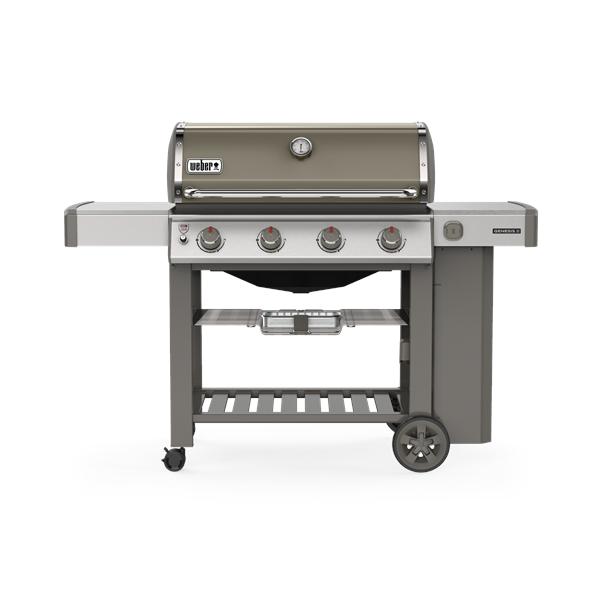 Weber Genesis E-410 GBS Gas Barbecue (Smoke Grey) Image 1