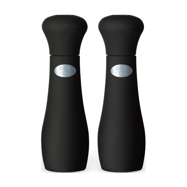 Weber Black Large Salt & Pepper Mill Set Image 1
