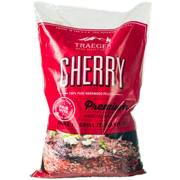 Traeger Cherry Wood Pellets (20lb) Bag Image 1