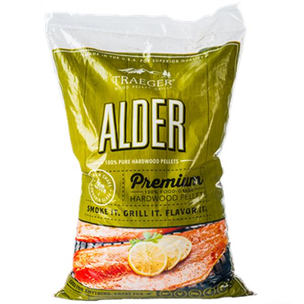 Traeger Alder Wood Pellets (20lb) Bag Image 1