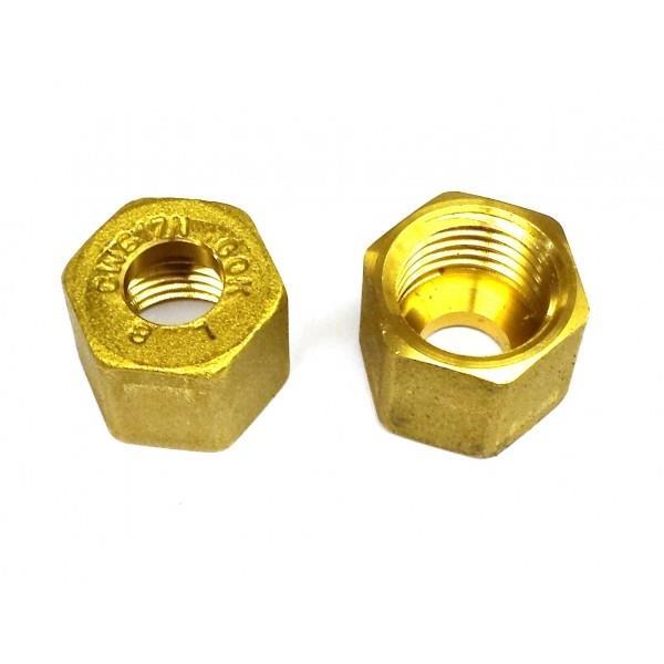 GOK 8mm Compression Nut (Pack of 2) Image 1