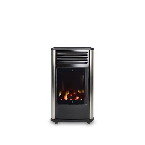 Portable Manhattan Real Flame Effect 3.4kW Living Flame Gas Heater Image 1