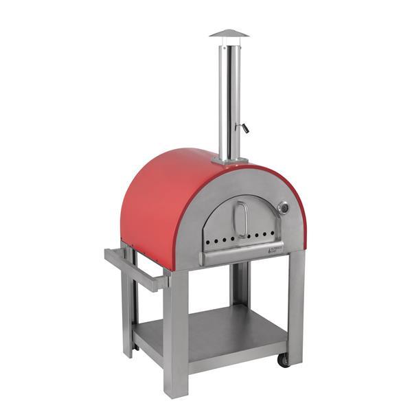 Alfresco Chef Verona Red Pizza Oven Image 1
