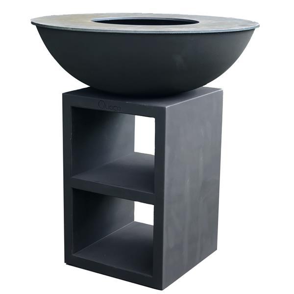 Quoco Piatto Black Medium Wood Fired Plancha Image 1