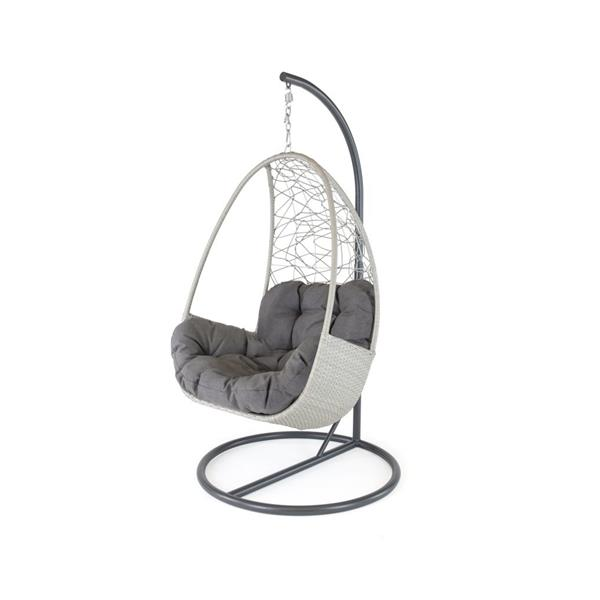 Kettler Palma Single Cocoon - White Wash Image 1