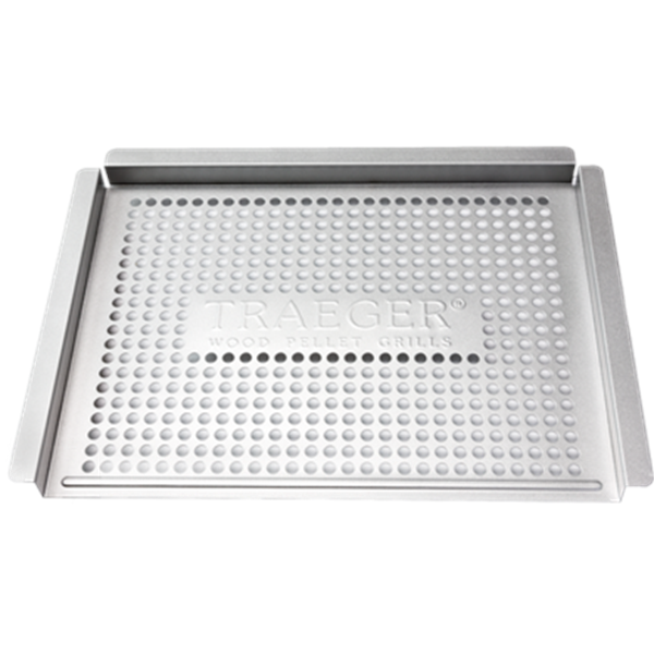 Traeger Stainless Grill Basket Image 1