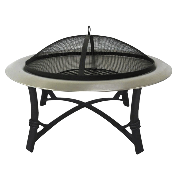 Lifestyle Prima Stainless Steel Round Firepit Image 1