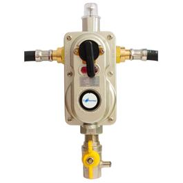 Continental 2 Cylinder Automatic Change Over Valve with OPSO thumbnail