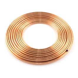 1/4 x 1Mtr Copper Pipe BS EN12449 or EN1057 thumbnail