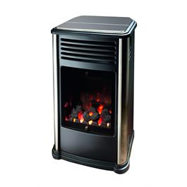 Manhattan Calor Real Flame Effect 3.4kW Living Flame Gas Heater thumbnail