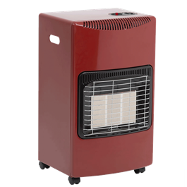 Lifestyle Seasons Warmth Red 4.2kw Radiant Portable Gas Heater  thumbnail