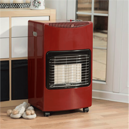 Lifestyle Seasons Warmth Red 4.2kw Radiant Portable Gas Heater  Thumbnail Image 1