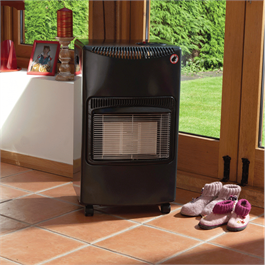 Lifestyle Seasons Warmth Grey 4.2kw Radiant Portable Gas Heater  Thumbnail Image 1