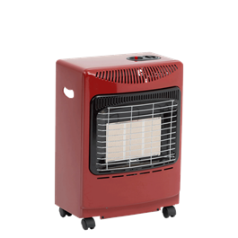 Lifestyle Red Mini Heatforce 4.2kw Radiant Portable Gas Heater Thumbnail Image 0