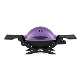 Weber Q1200 Purple Gas Barbecue Thumbnail Image 0