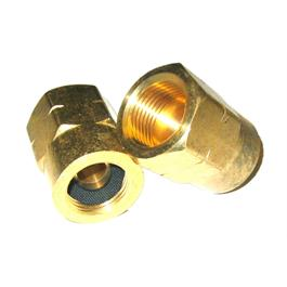 European Propane (21.8LH Female) to UK Propane Cylinder Adaptor Thumbnail Image 1