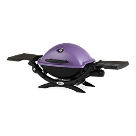 Weber Q1200 Purple Gas Barbecue Thumbnail Image 1