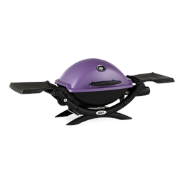 Weber Q1200 Purple Gas Barbecue Thumbnail Image 2